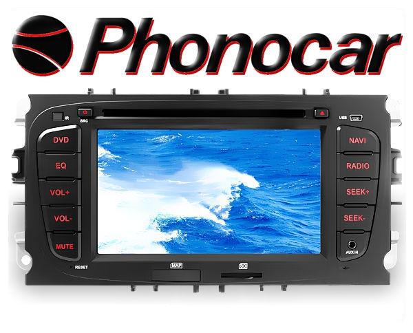 Phonocar Ford 7 Tochscreen Multimedia Station DVD Bluetooth USB GPS