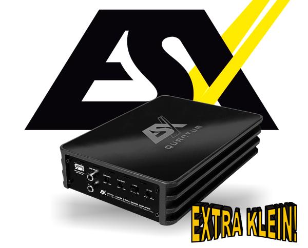 ESX Quantum Micro Verstärker Endstufe Q-TWO