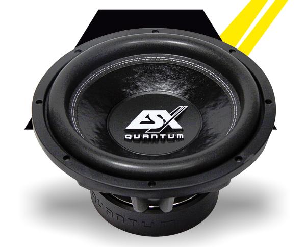 ESX Subwoofer Bass Quantum QE-1224