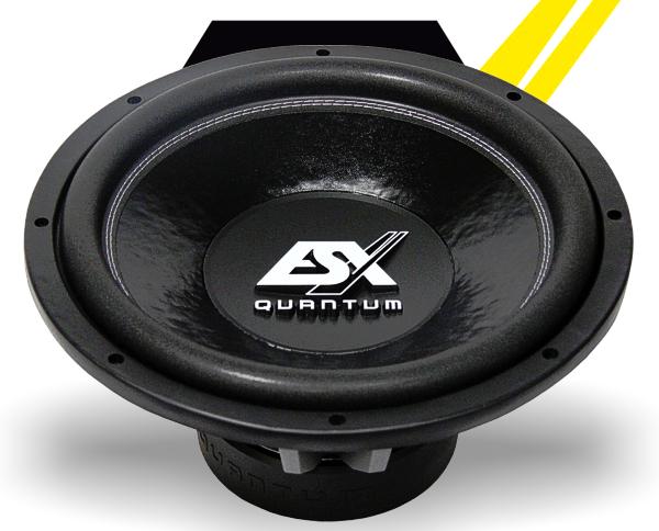 ESX Subwoofer Bass Quantum QE-1524