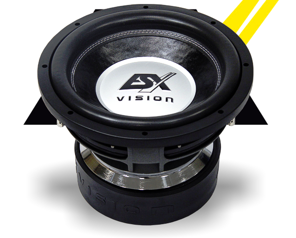 ESX Subwoofer Bass Vision VE-1222