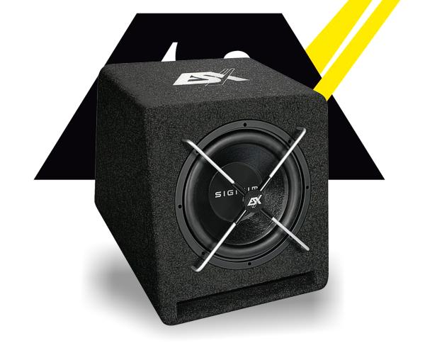 ESX Signum Single Bassreflex SE-250