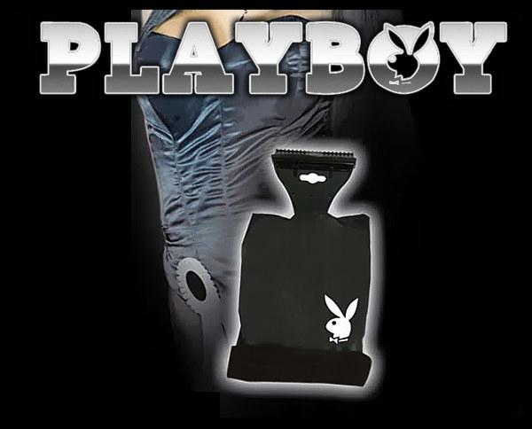 Eiskratzer -Playboy- mit Handschuh