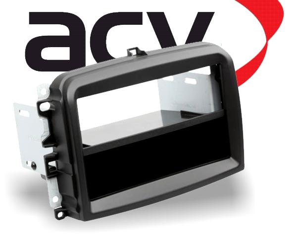 Radioblende mit Ablagefach Fiat 500L 10/2012 > (Typ 199)
