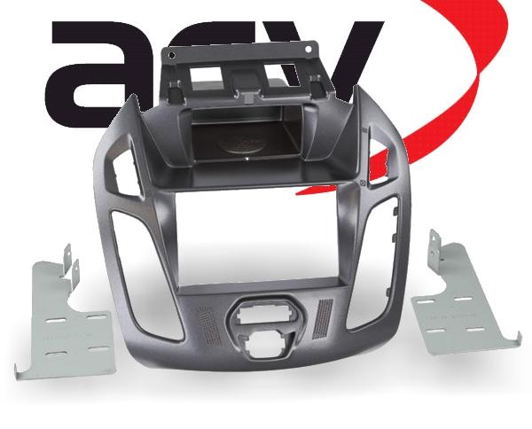 Radioblende 2-DIN mit Ablagefach Ford Transit Tourneo Pegasus