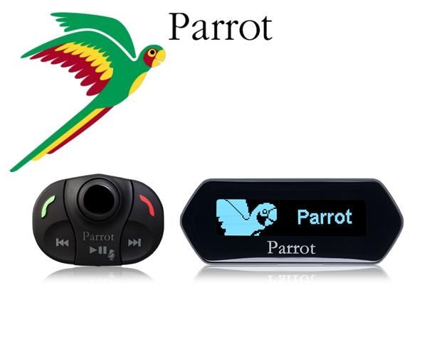 Parrot Freisprecheinrichtung Bluetooth zum Nachrüsten MKi9100