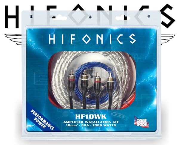 Hifonics Endstufen Kabelsatz HF10WK
