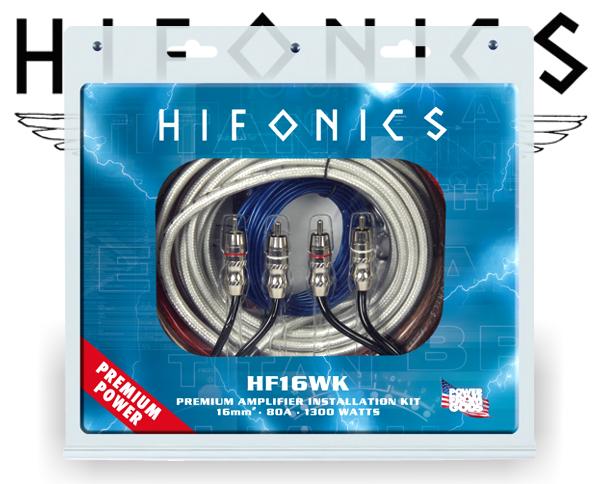 Hifonics Endstufen Kabelsatz HF16WK PREMIUM