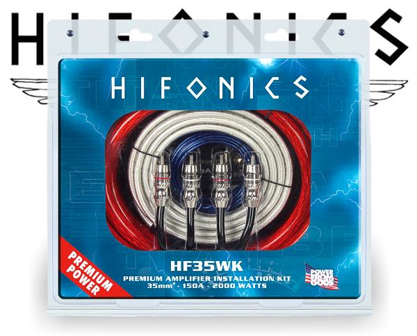 Endstufen Kabelsatz Hifonics HF35WK PREMIUM