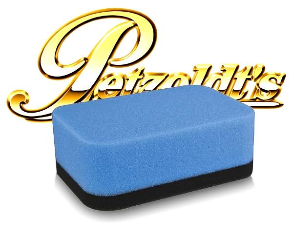 Petzoldts Profi Handpolierschwamm 2-lagig hart&weich polieren waxen reinigen pflegen