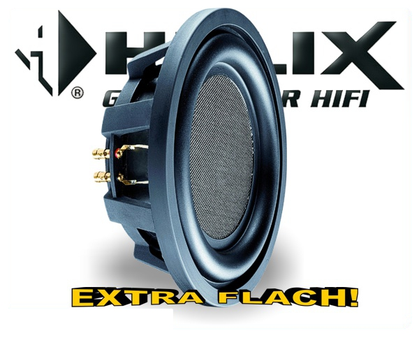 Helix Esprit Subwoofer E 12W - EXTRA FLACH