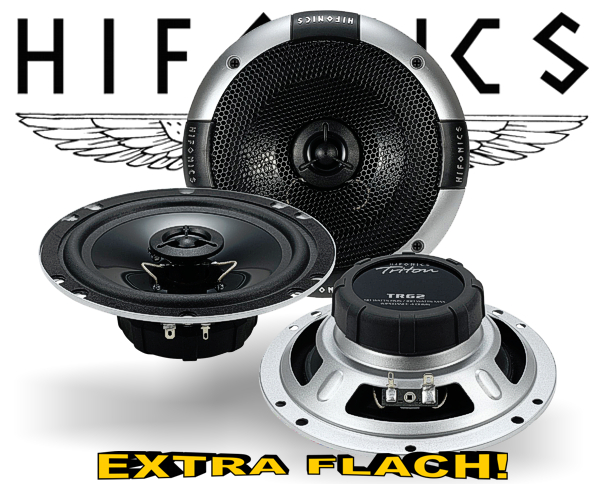 Hifonics 2-Wege Auto Lautsprecher Koax TR62 extra flach!