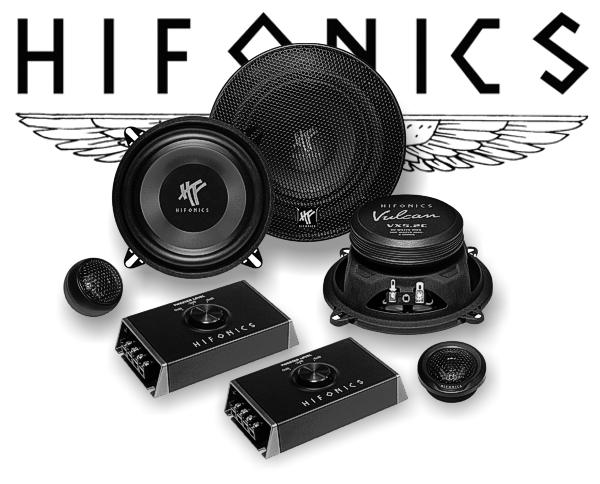 Hifonics Vulcan 2-Wege Auto Lautsprecher System VX5.2C