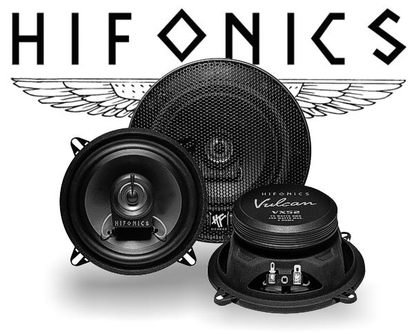 Hifonics Vulcan 2-Wege Auto Lautsprecher Koax VX52
