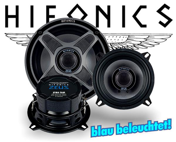 Hifonics Zeus 2-Wege Koax Lautsprecher ZSi-52