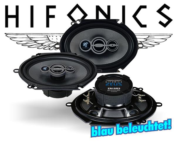 Hifonics Zeus 3-Wege Triax Auto Lautsprecher ZSi-683