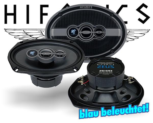 Hifonics Zeus 3-Wege Triax Auto Lautsprecher ZSi-693