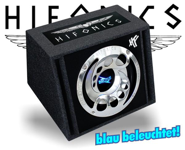 Hifonics Brutus Single Bassreflex BXi12 Reflex mit Beleuchtung!