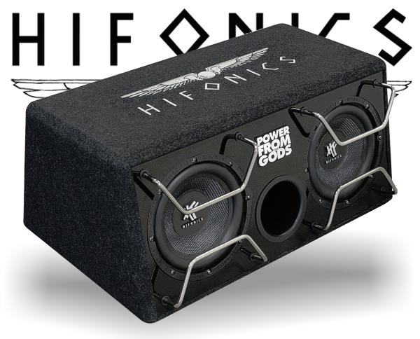 Hifonics Industrial Bassbox Dual-Subwoofer HFI-202