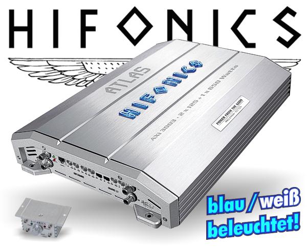 Hifonics Atlas Auto Verstärker Endstufe AXi-3003