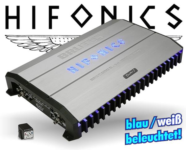 Hifonics Subwoofer Endstufe Brutus BRX-2000D
