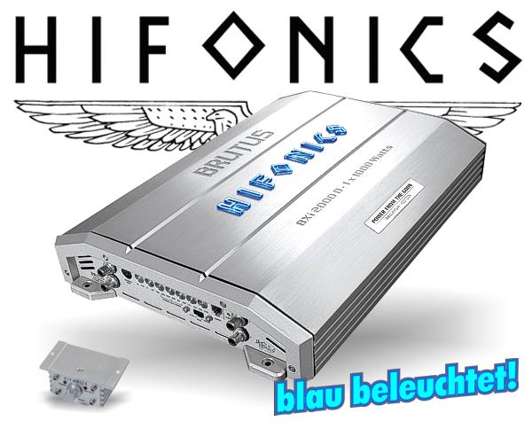 Hifonics Brutus B3 Endstufe BXi-2000D
