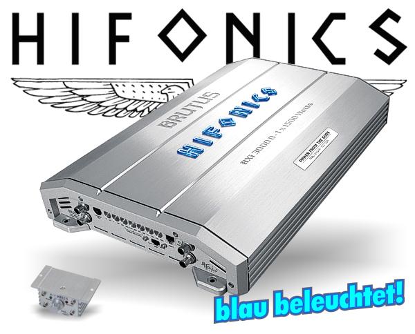 Hifonics Brutus B3 Endstufe BXi-3000D