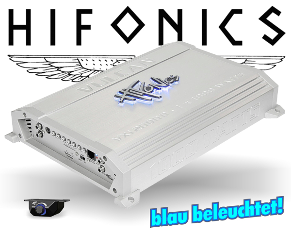 Hifonics Subwoofer Endstufe Verstärker Vulcan VXi-2000D