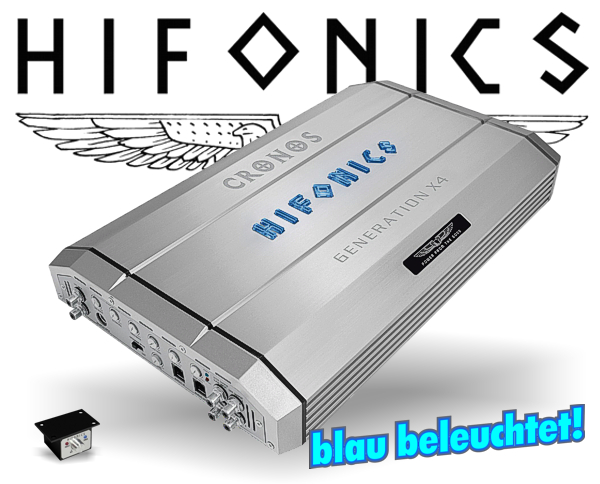 Hifonics GEN-X4 Auto Verstärker Endstufe CRONOS