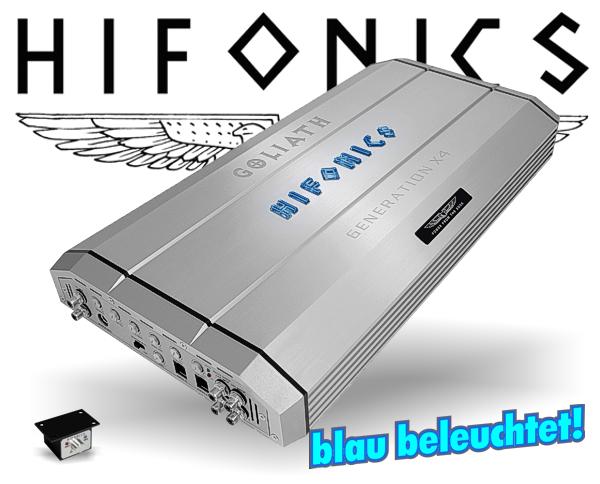 Hifonics GEN-X4 Auto Verstärker Endstufe GOLIATH