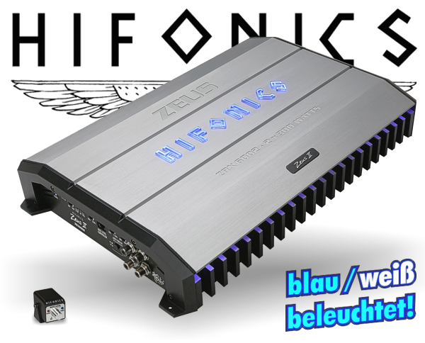 Hifonics Zeus ZRX Endstufe ZRX-6002