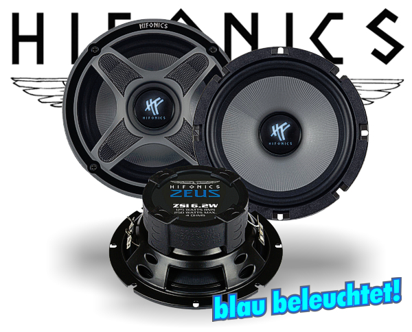 Hifonics Zeus Kickbass Subwoofer ZSi-6.2W