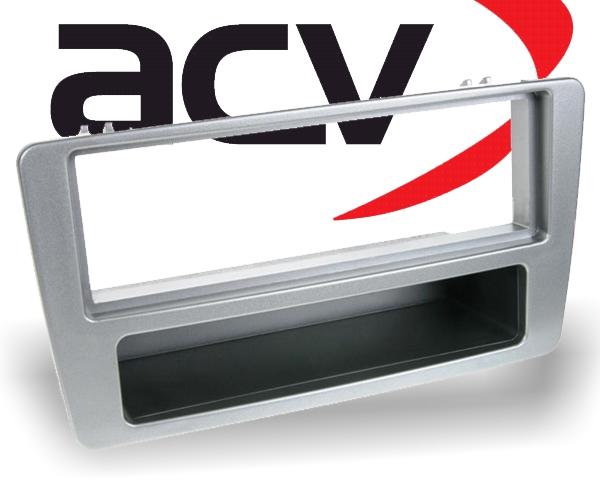 Radioblende mit Ablagefach Honda Civic (silber) Typ01