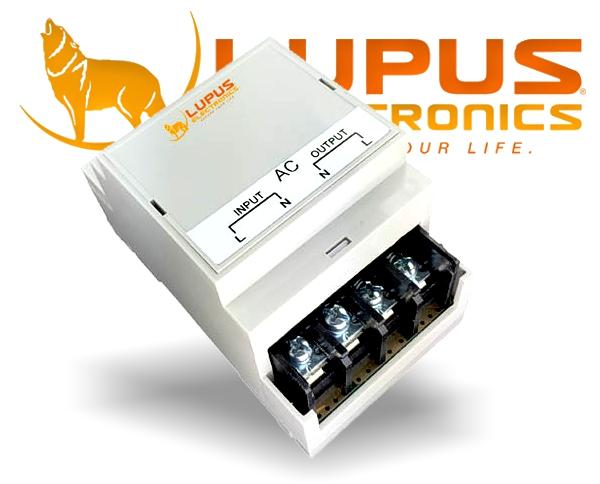 IP Funk Haus Alarmanlage LUPUSEC - XT2 Plus Hutschienenrelais DIN3 6900W 30A