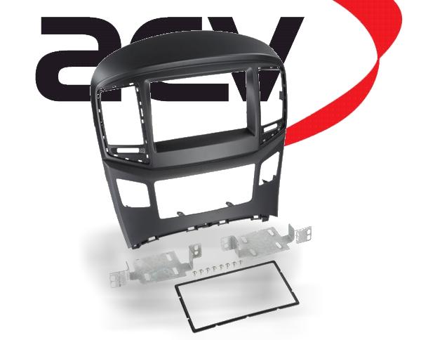 Radioblende Doppel-DIN Hyundai H1 ab 2015 schwarz