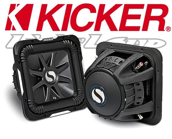 Kicker Subwoofer SoloBaric L7 S10L72 2x 2ohm 1200W 25cm