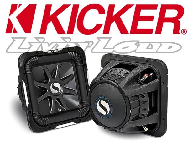 Kicker Subwoofer SoloBaric L7 S8L74 2x 4ohm 900W 20cm