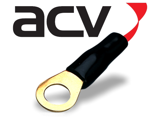 Kabelschuh Ring 20 mm² schwarz