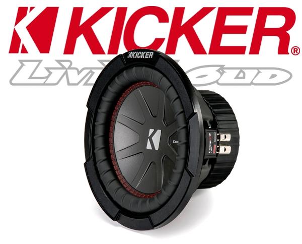 Kicker Auto Subwoofer Bass CWR84-43 2x 4ohm 600W 20cm