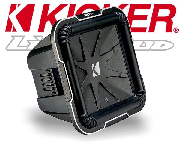 Kicker Subwoofer Bass Q-Class L7124 2x 4ohm 1800W 30cm