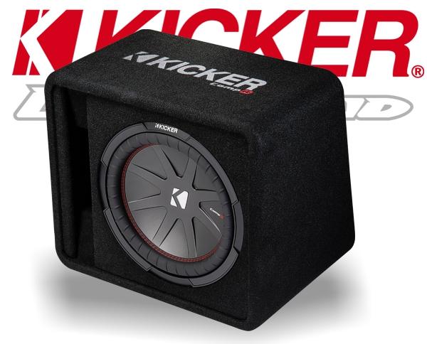 Kicker Subwoofer Bassbox 43VCompR12 VCWR122-43 1000W