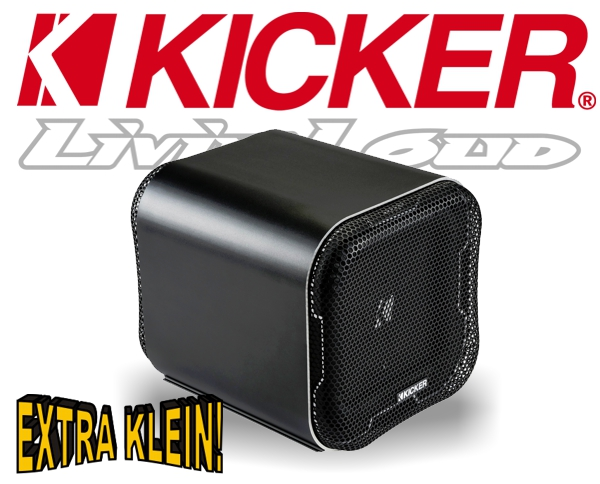 Kicker Mini Subwoofer Bassbox Q-Class L7QB82 2ohm 1000W