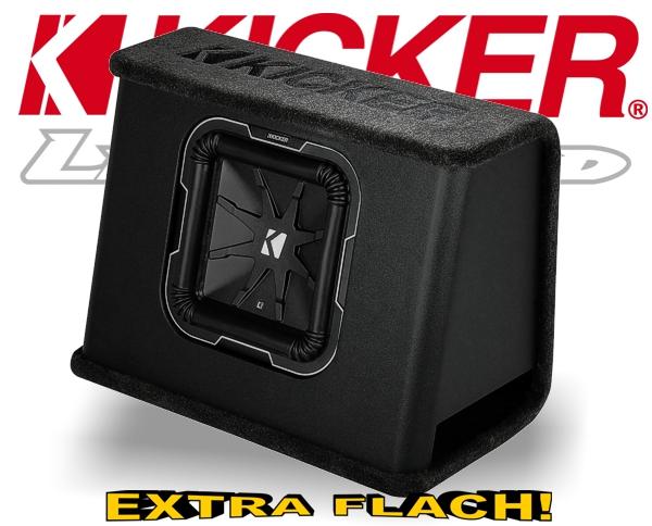 Kicker Subwoofer Bassbox Q-Class TL7102 flach 2ohm 1500W