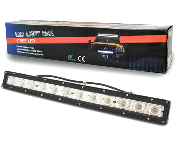 LED Lightbar Lichtbalken Arbeitslicht Flutlicht 5400lm 6500K 60W