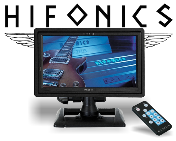 HIFONICS MX581S 5.8 LCD/TFT Auf-/Einbau-Monitor