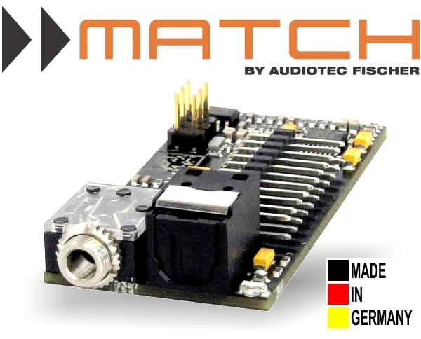 Match MEC Aux In Modul für Plug&Play DSP Verstärker PP62DSP