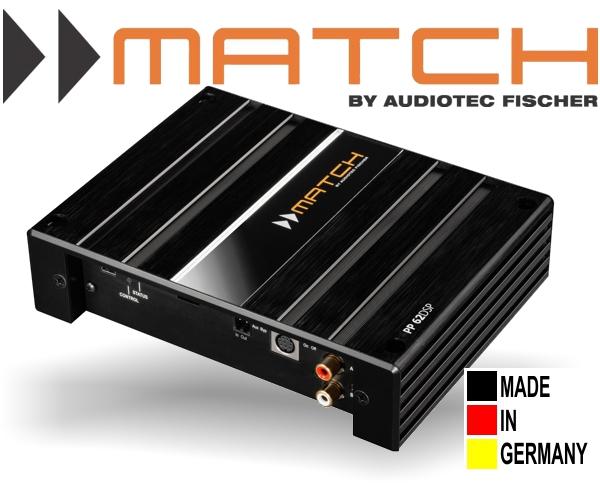 Match 5/6-Kanal Plug&Play Verstärker mit integriertem DSP PP62DSP