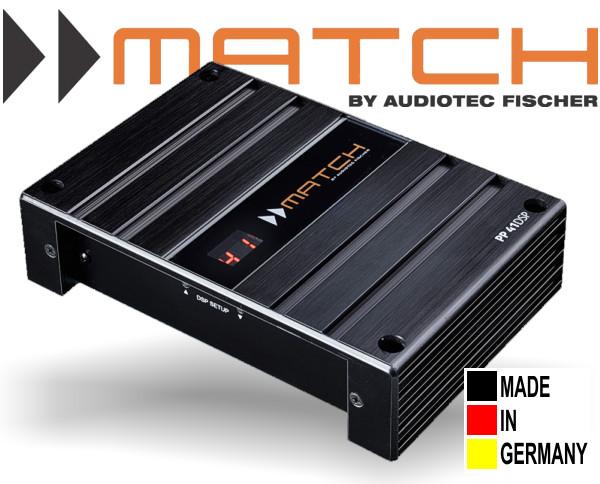 Match BMW 4-Kanal Plug&Play Verstärker mit integriertem DSP PP41 DSP BMW