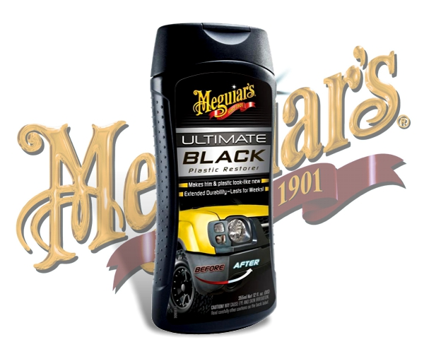 Meguiars Ultimate Black Kunststoffpflege Plastikpflege G-15812