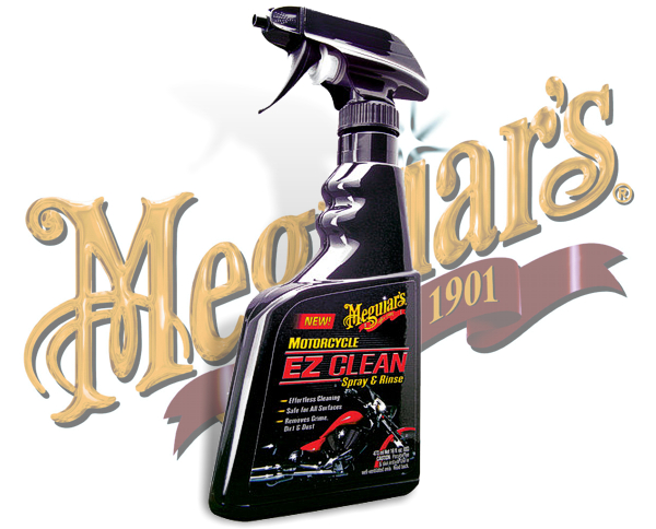 Meguiars EZ Clean Motorrad Reiniger Spray&Rinse MC-20016